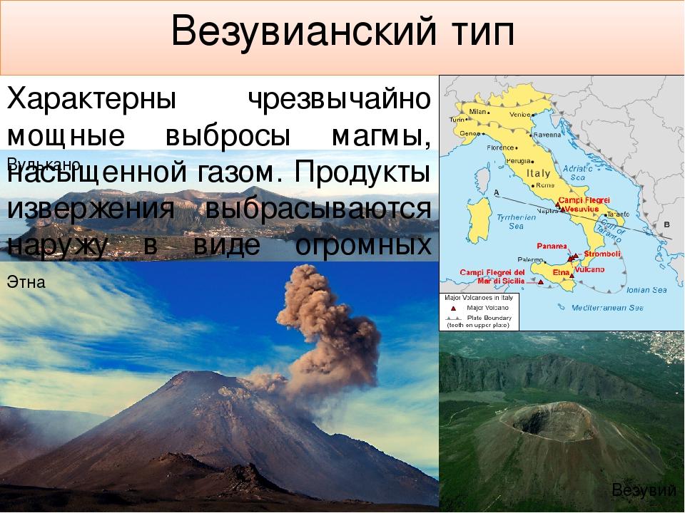 Крупнейшие извержения за всю историю человечества