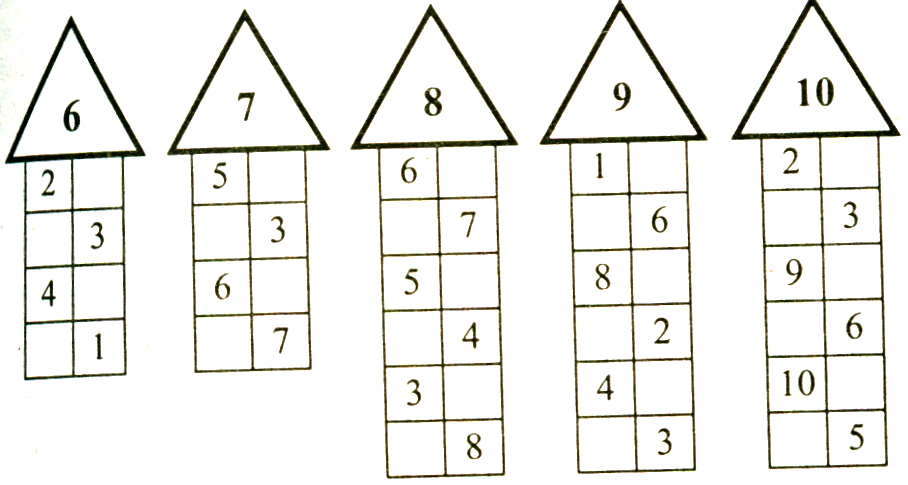 9 числа домик картинка состава
