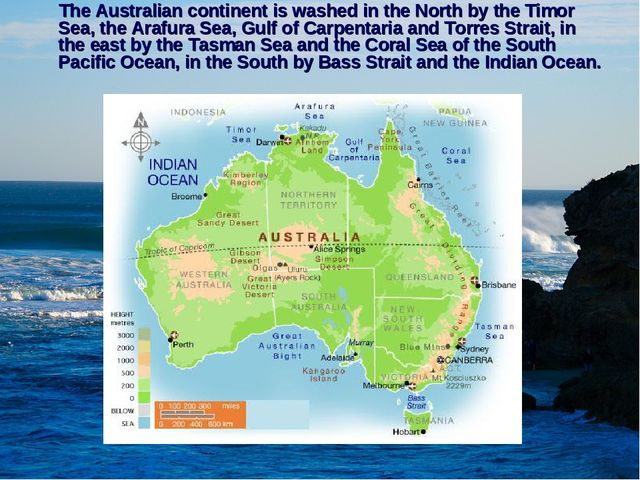 an in depth look at the island continent of australia Start studying chapter 3: plate tectonics learn  (some are in the middle of the continent)  overlying asthenosphere magma solidifies at depth add to the.