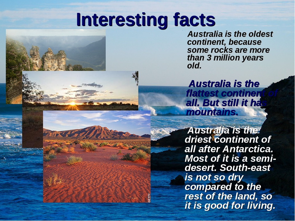 australia facts interesting facts about australia