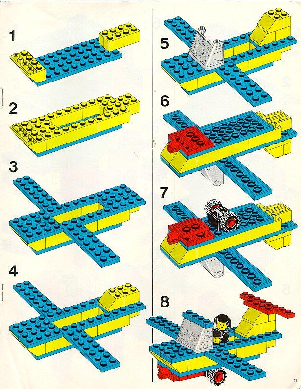 схемы моделей из конструктора лего