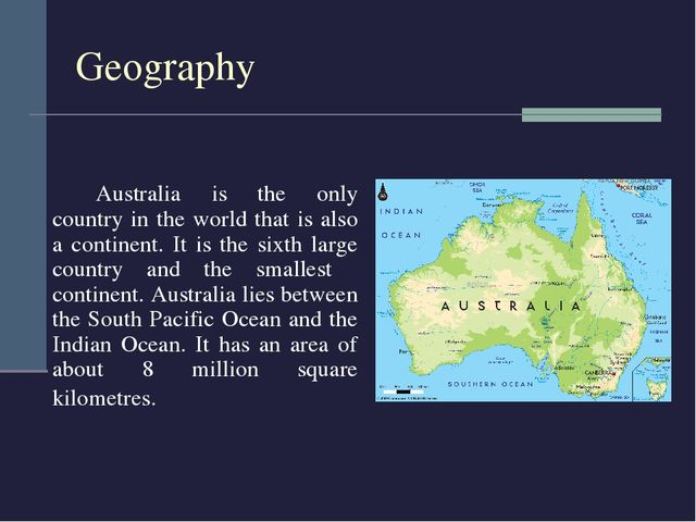 a biography of australia the country that is also a continent