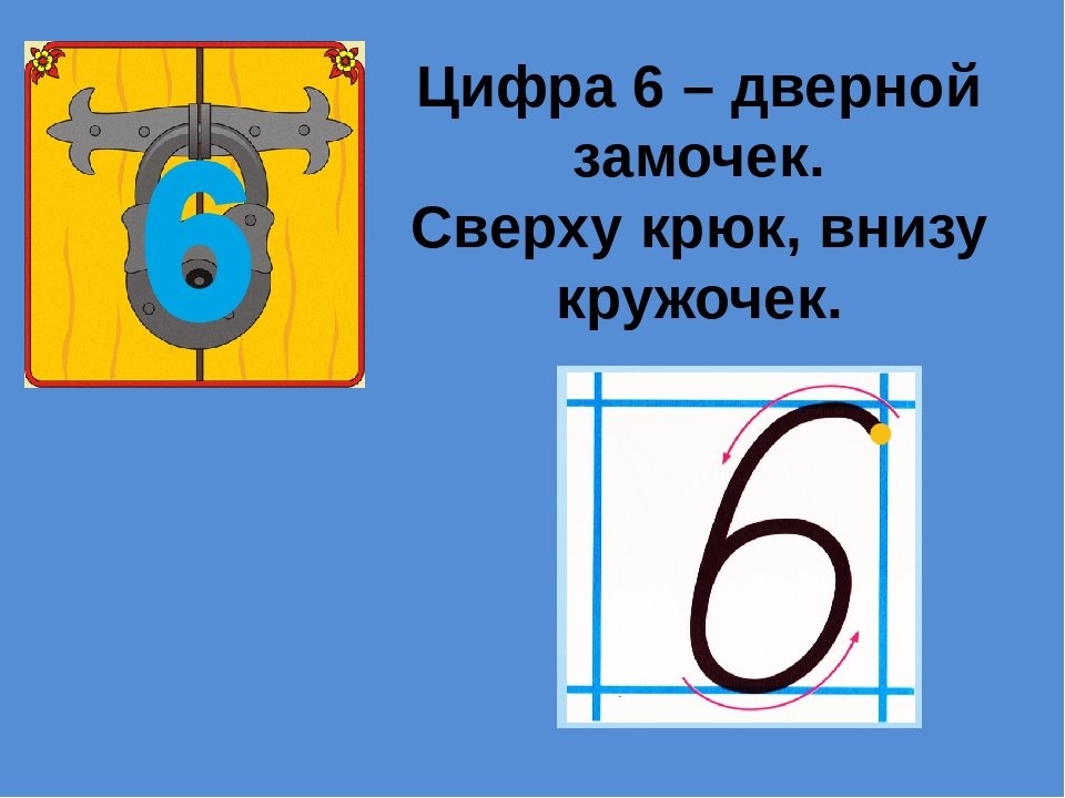 цифра шесть дверной замочек сверху крюк внизу кружочек картинки довольно
