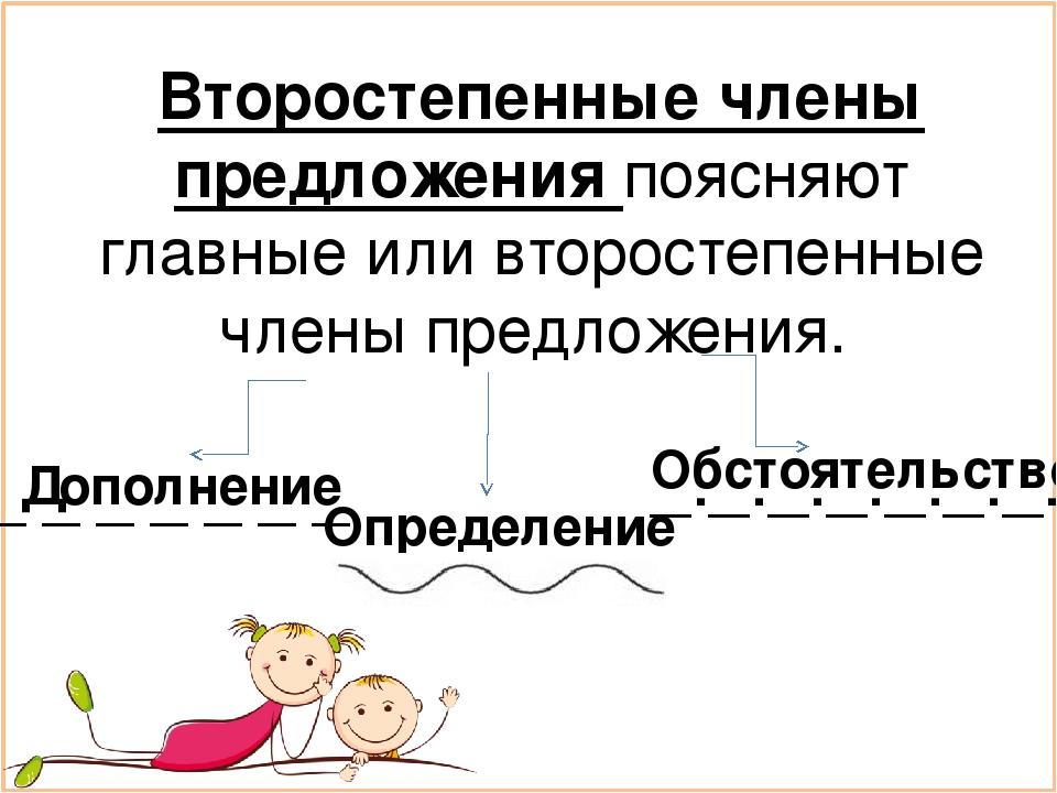 Члены класс по тест второстепенные предложения русскому гдз языку 5