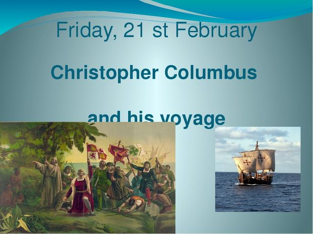 an essay on the life and times of christopher columbus