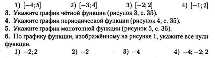 Контрольная работа 1 по теме числовые функции 8395