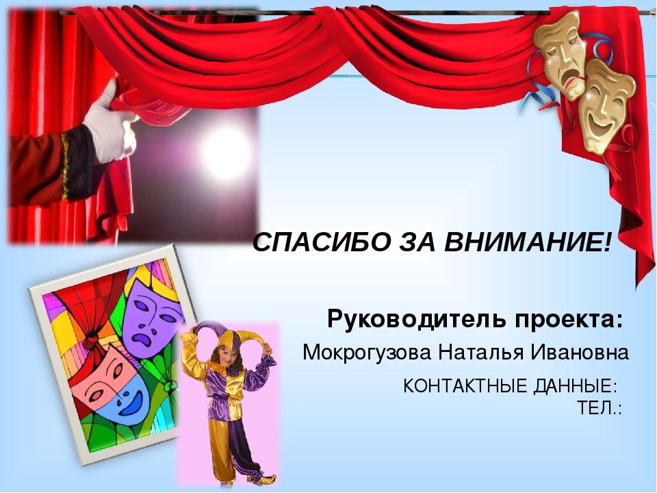 Конспект урока театральной студии