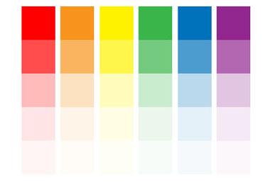 цвет.свойства цвета. светлота