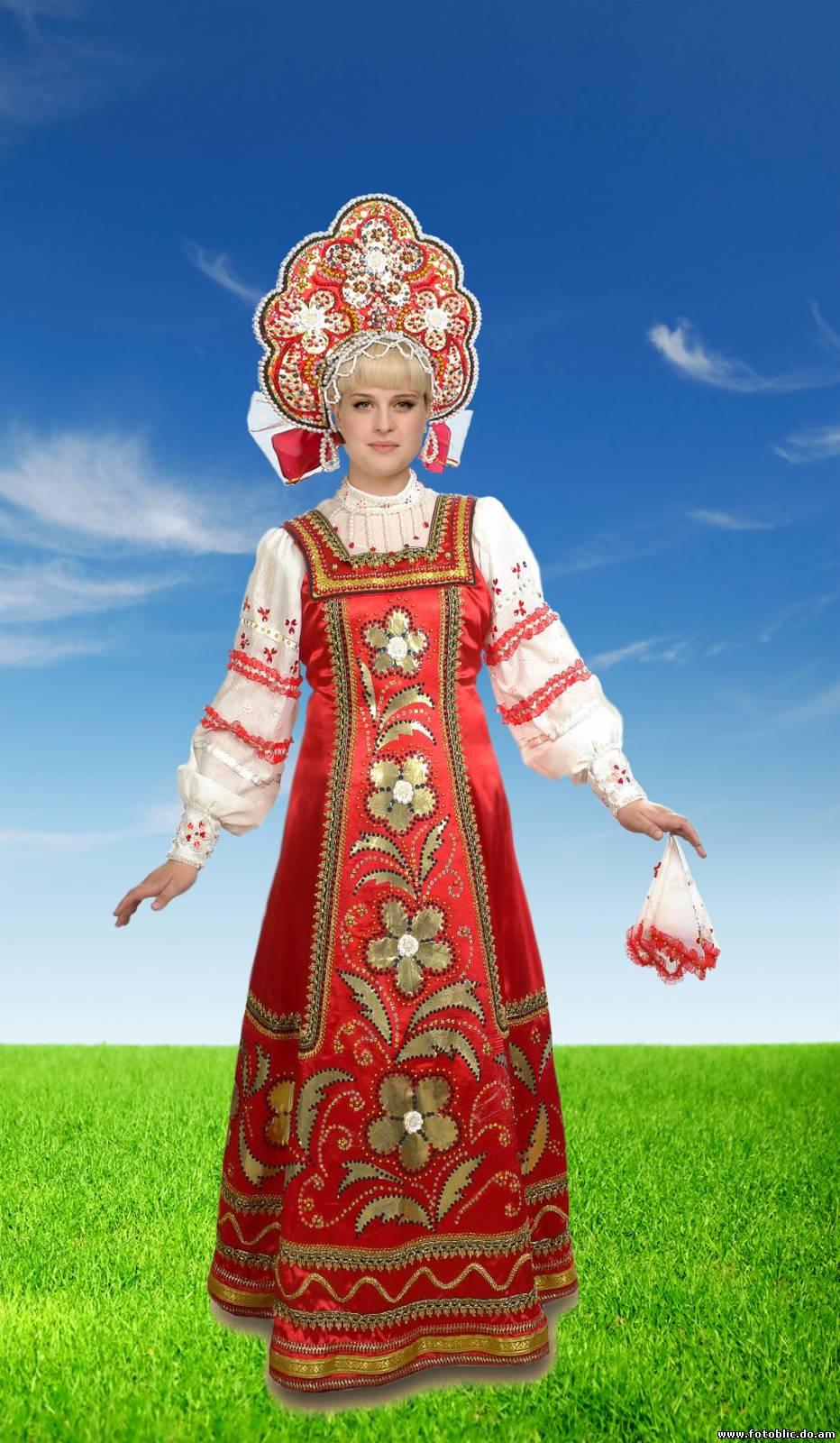 Картинки русских в национальных костюмах