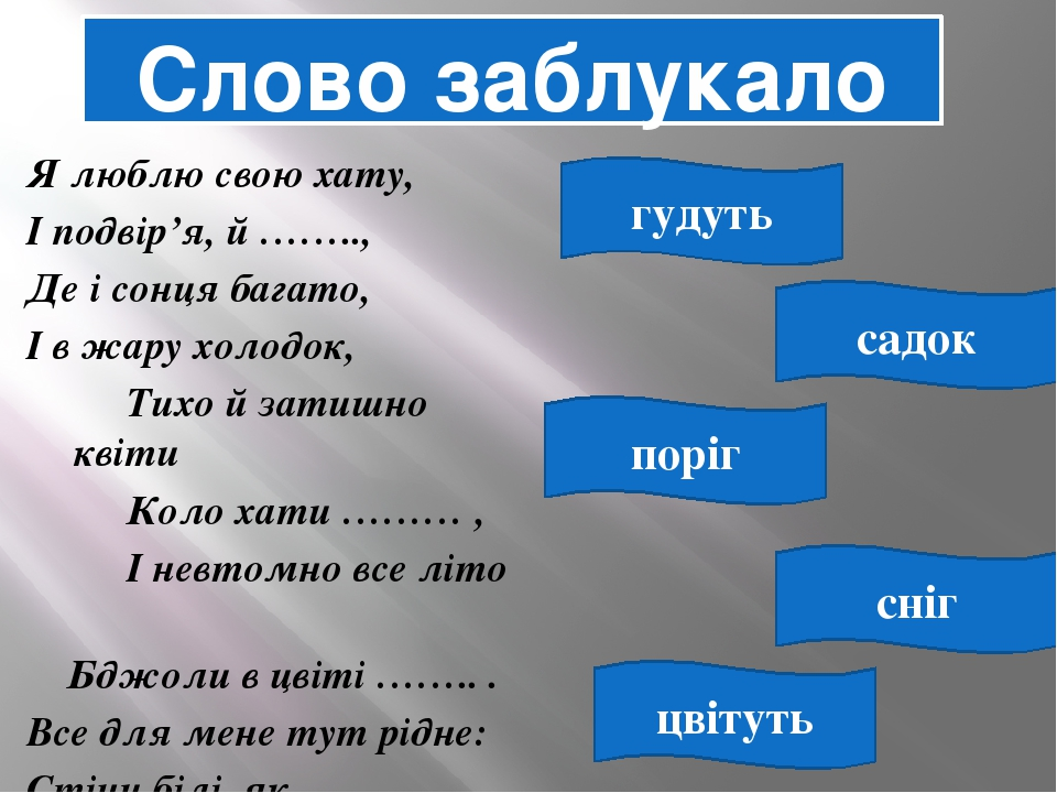 Презентaція уроку розвитку зв язного мовлення нa тему