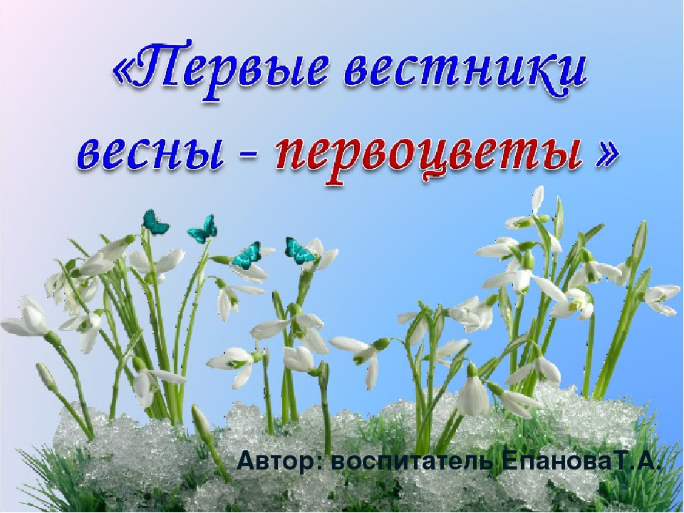 Автор: воспитатель ЕпановаТ.А.