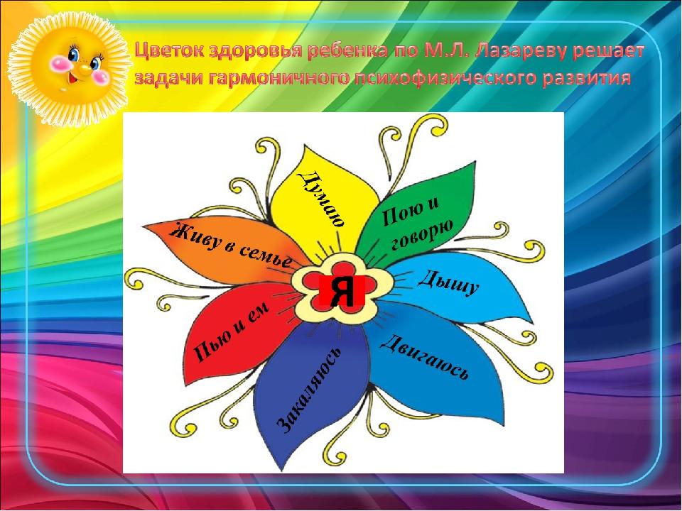Цветок здоровья в картинках, открытка