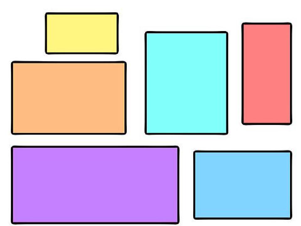 Картинки квадратов разных размеров