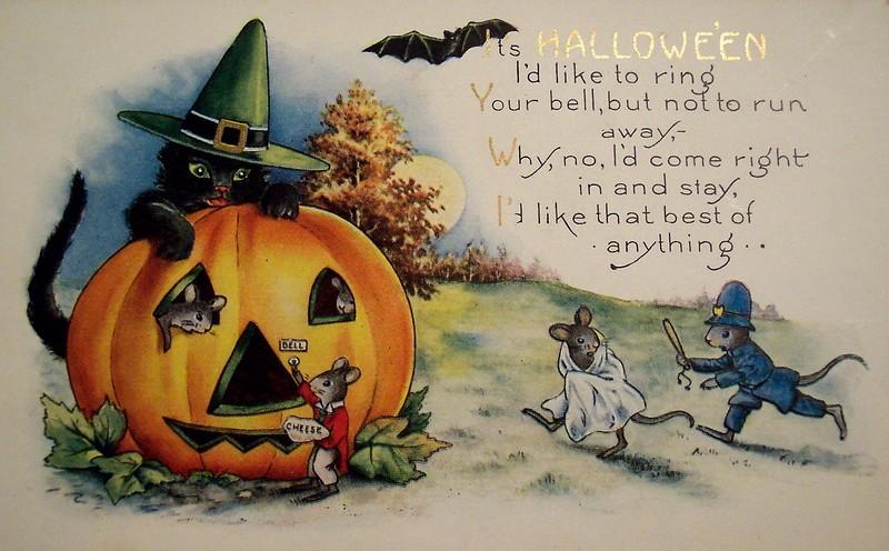 Как сделать открытку хэллоуин по английскому языку