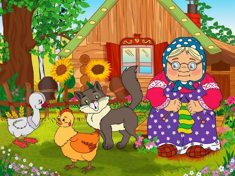Картинки в деревне у бабушки