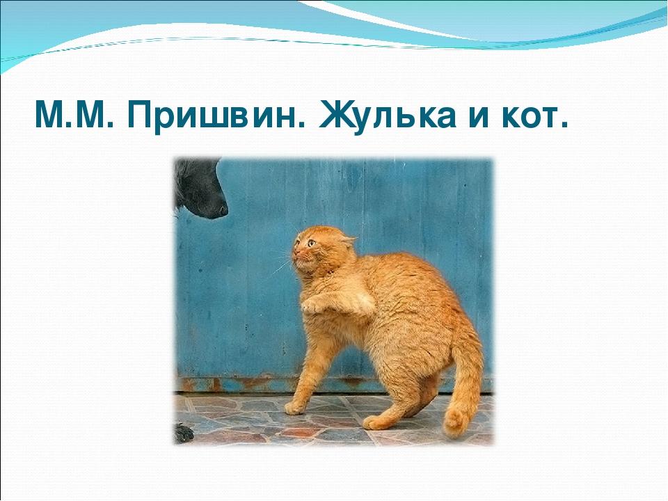 пришвин кот картинки