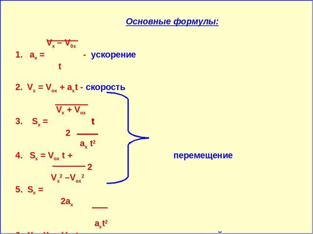 Решение задач на прямолинейное равноускоренное движение конспект нужны решение задачи по физике