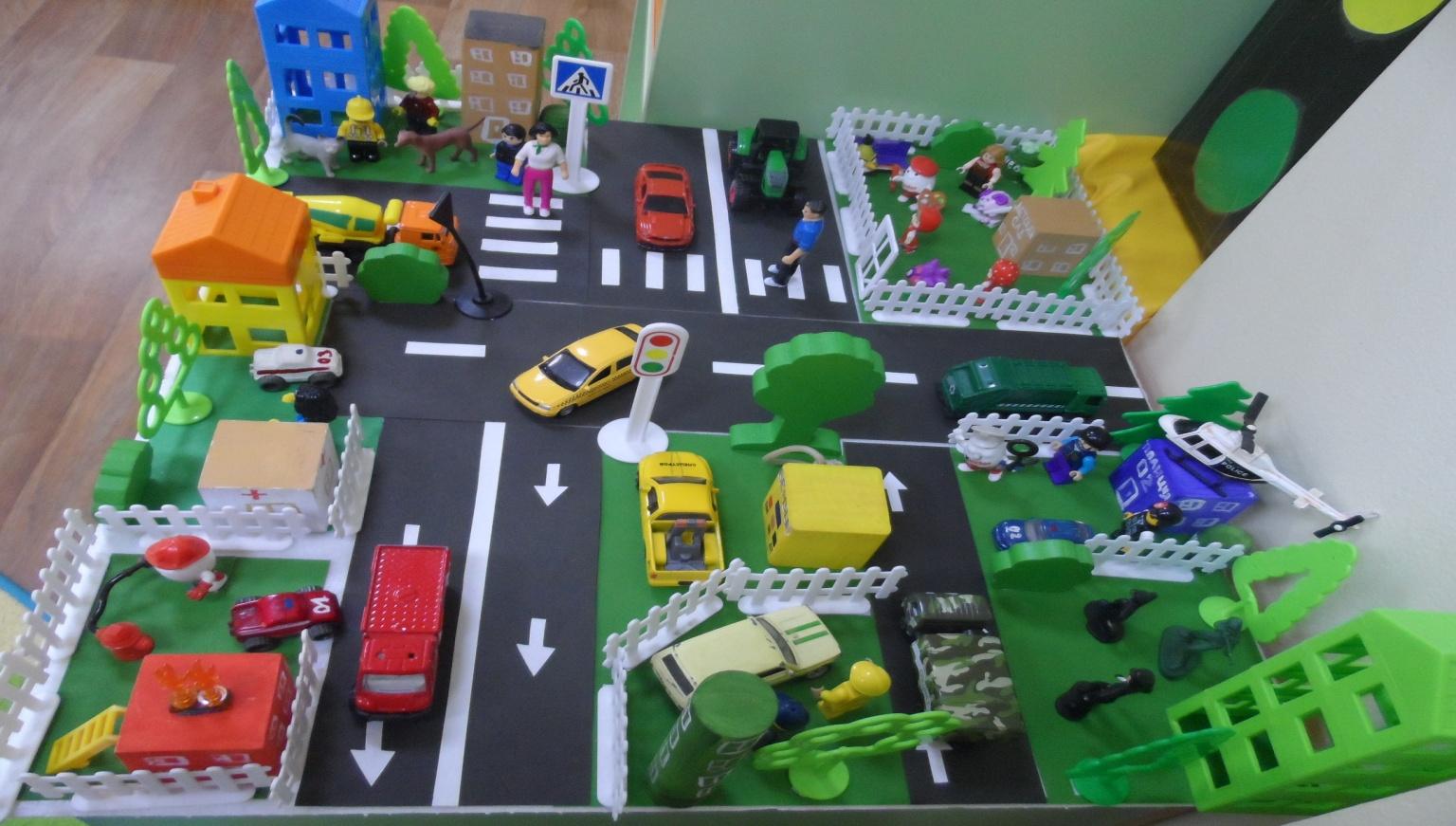 Поделка на тему дорожного движения Женский сайт: советы и рекомендации 17