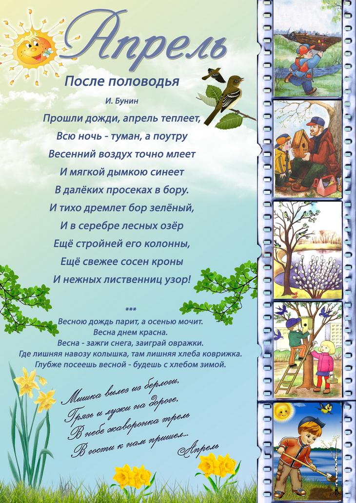 информация о весне в картинках красивых