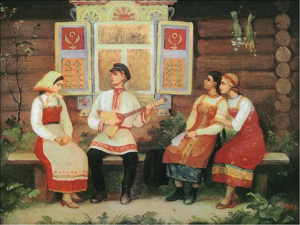 Картинки русского фольклора