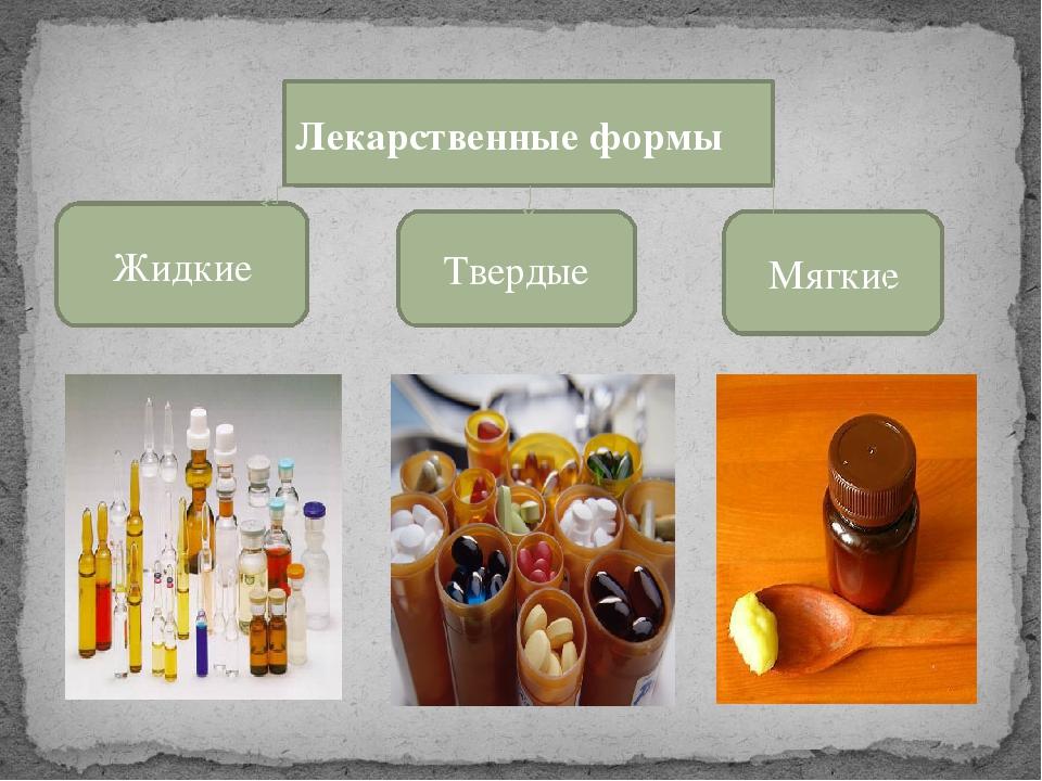 лекарственные формы их классификация картинки могу