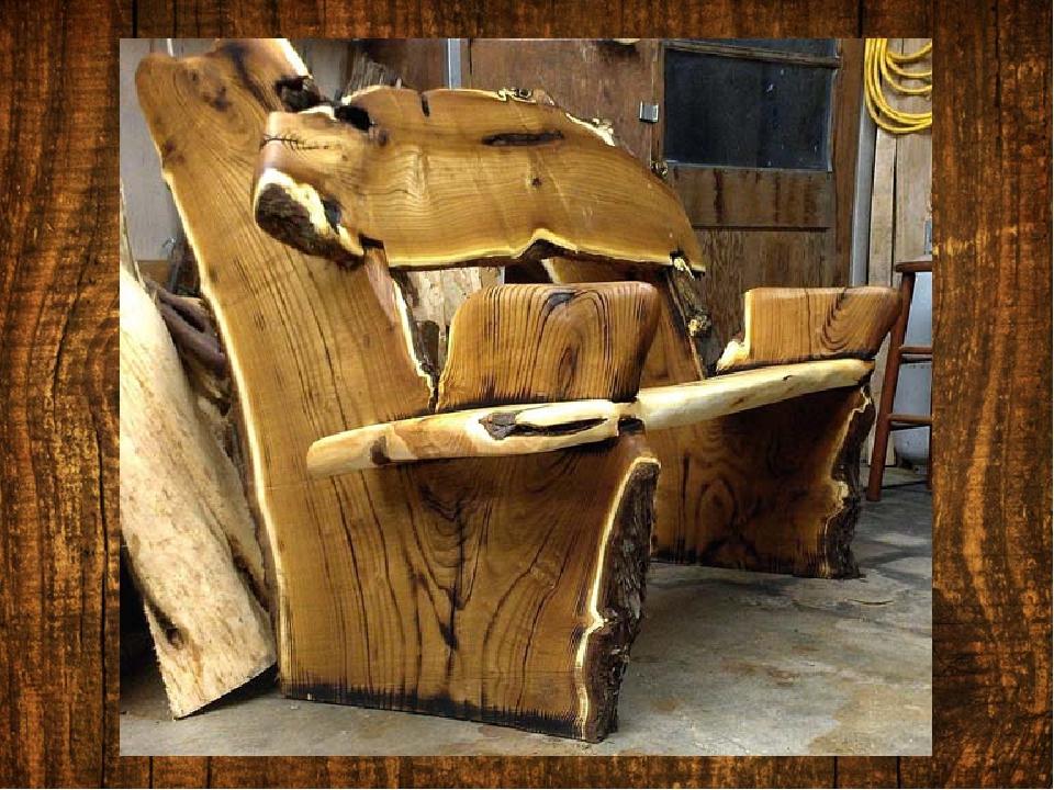 Креативные фото из древесины