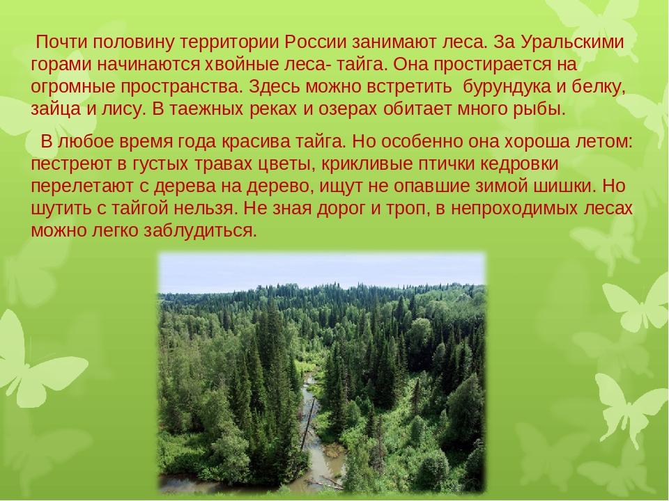 Презентация картинки о природе россии