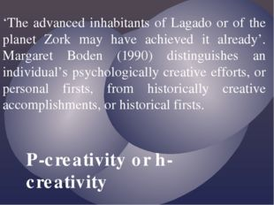 'The advanced inhabitants of Lagado or of the planet Zork may have achieved i