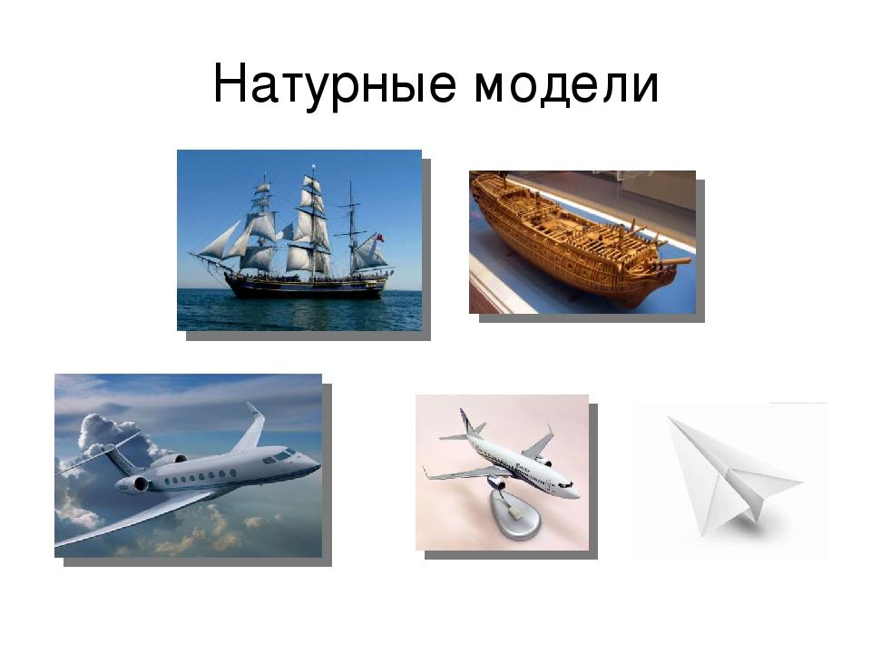Натурные модели
