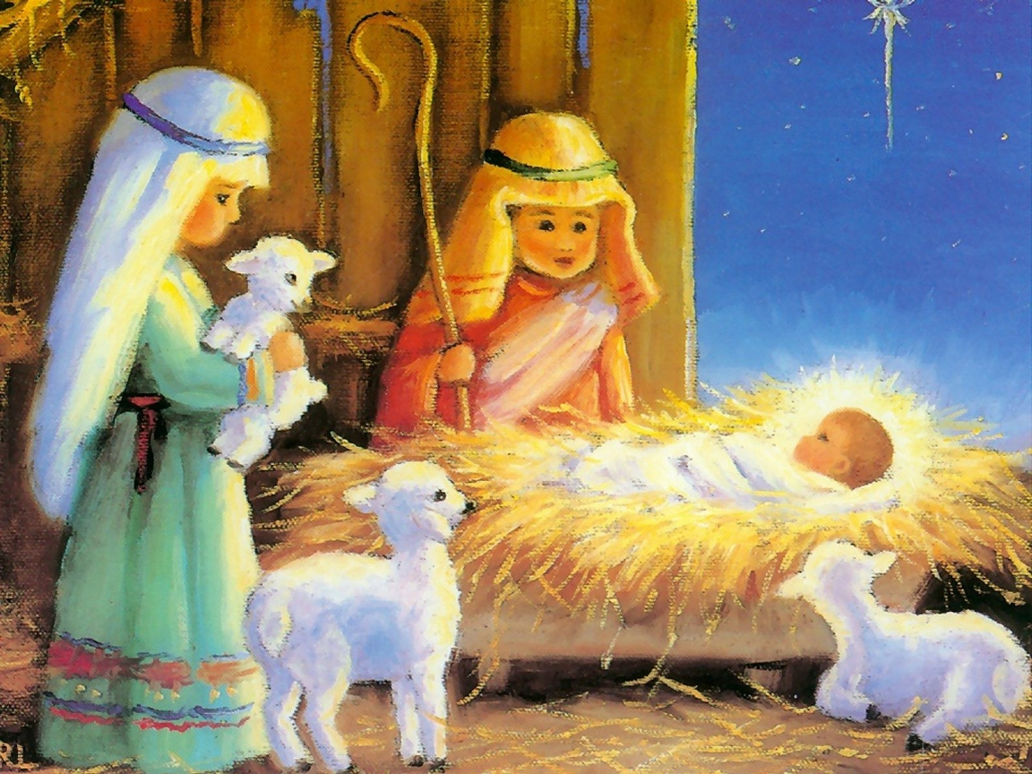 рождественские картинки с младенцем думали, что этот
