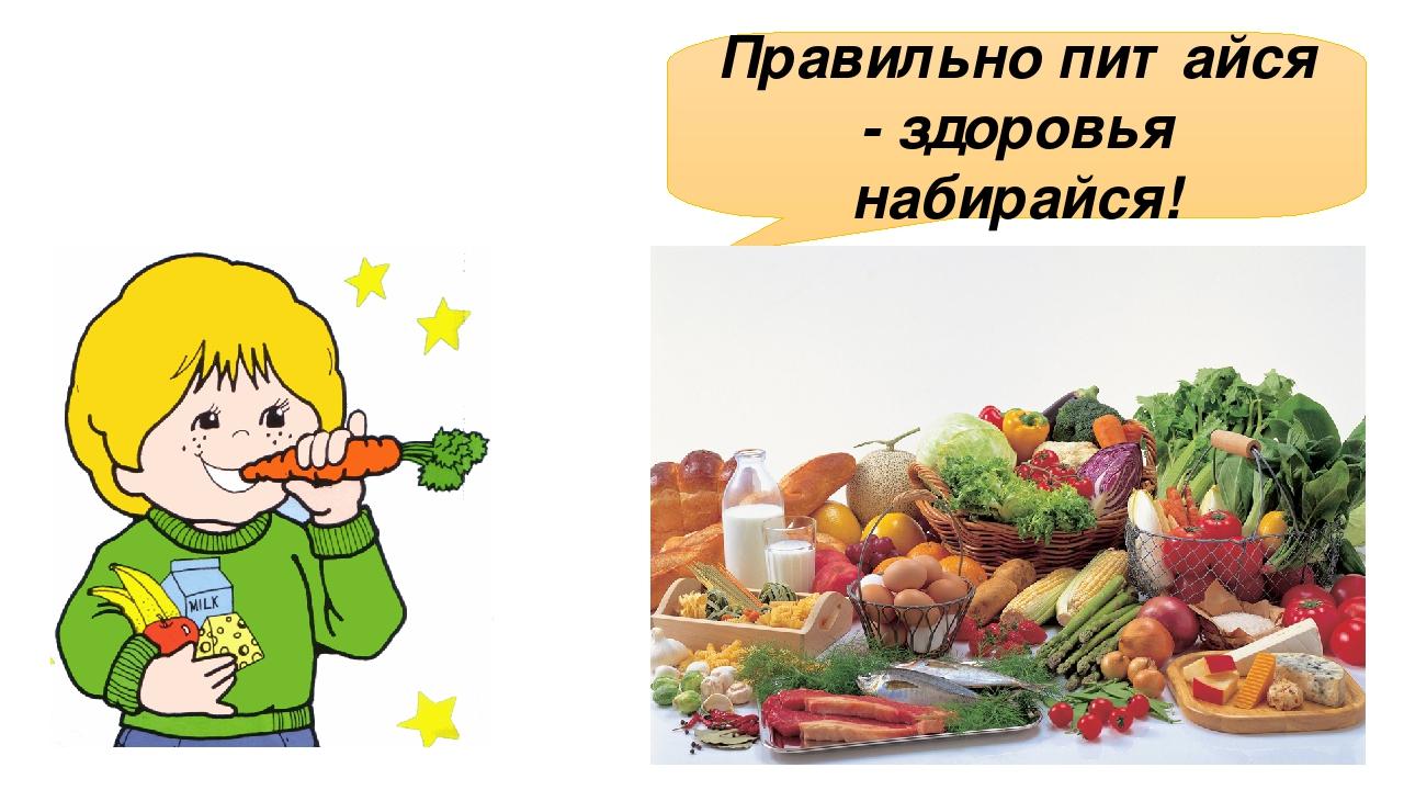 Рисунок по гигиене питания