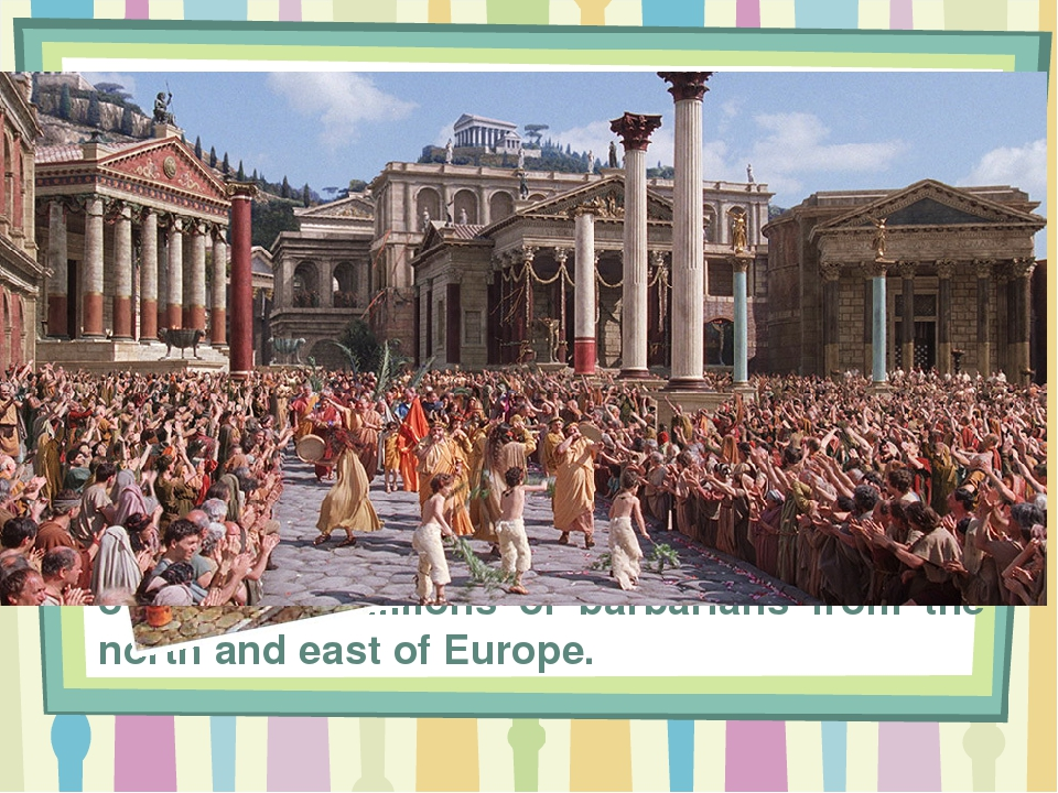 rome ruled the world Ori z soltes provides a look at the roman empire, detailing its history, social customs, professions, class ranks, military, and religion show more.
