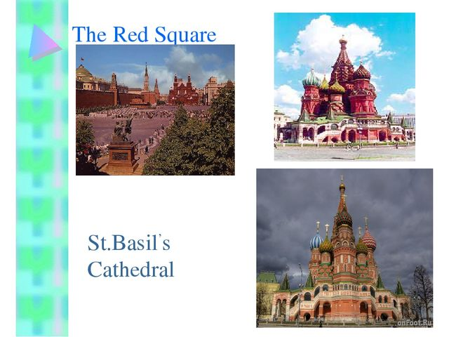 The Red Square St.Basil's Cathedral