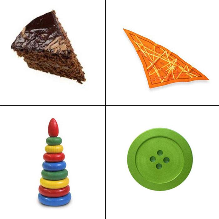 Картинки в форме треугольника