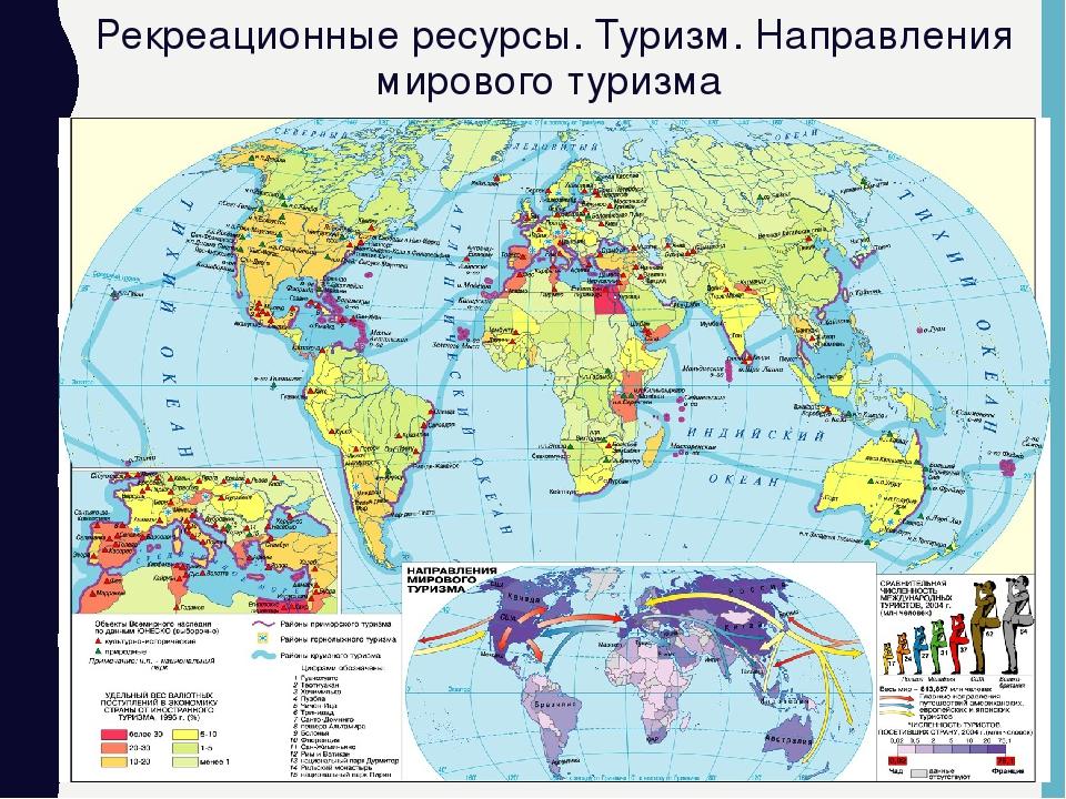 Роль религиозного туризма в системе международного и внутреннего туризма.