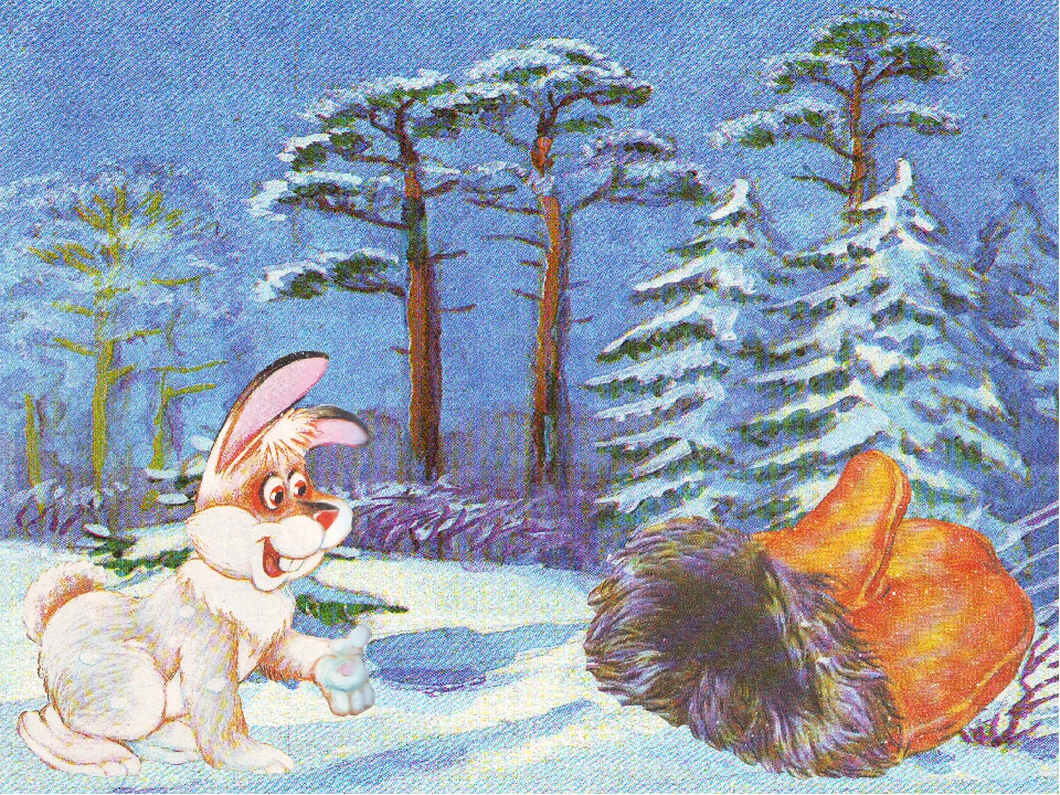 Сказка рукавичка в картинках презентация для детского сада