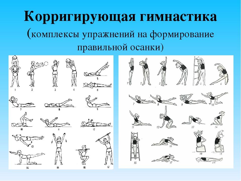 комплекс упражнений по физкультуре с картинками снимке видно, как