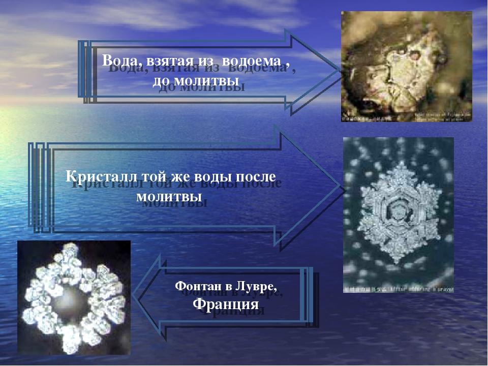 лишь тот, кристаллы воды после молитвы фото если
