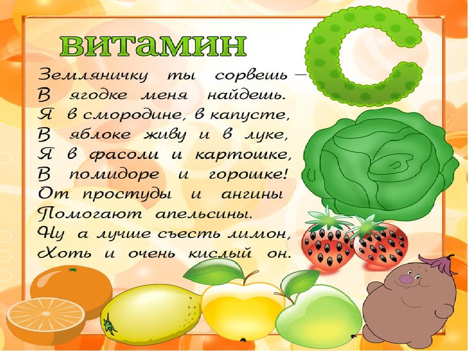 Картинки полезное питание и витамины