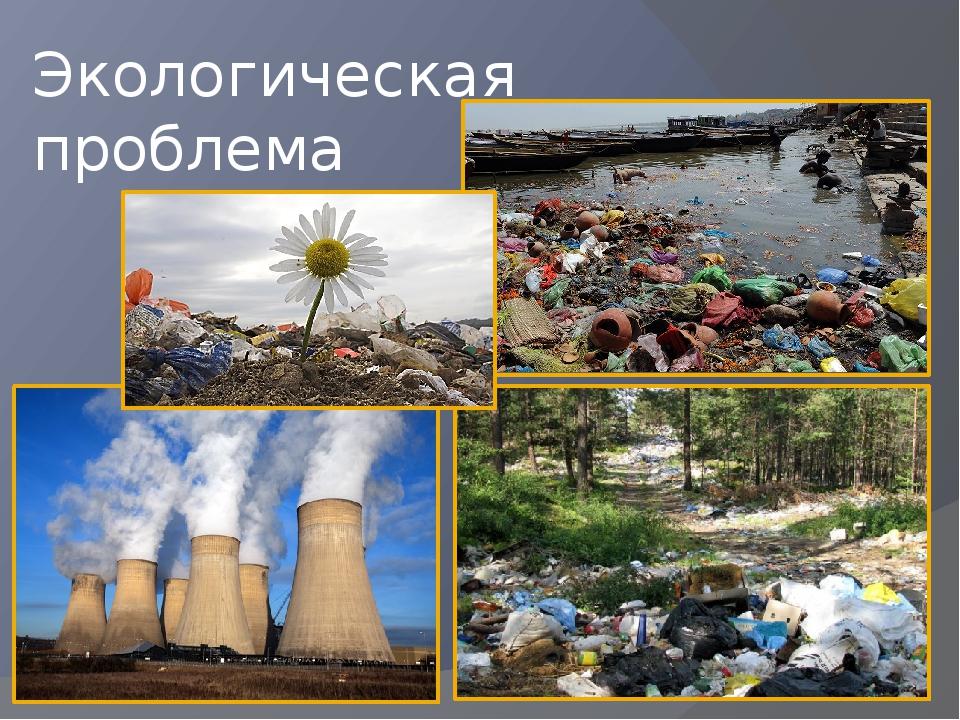 фото реферат экологические проблемы сих пор
