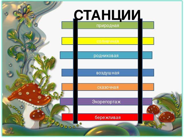 природная солнечная родниковая воздушная сказочная Экорепортаж бережливая СТА...