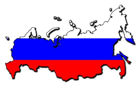 Карта россии флаг население