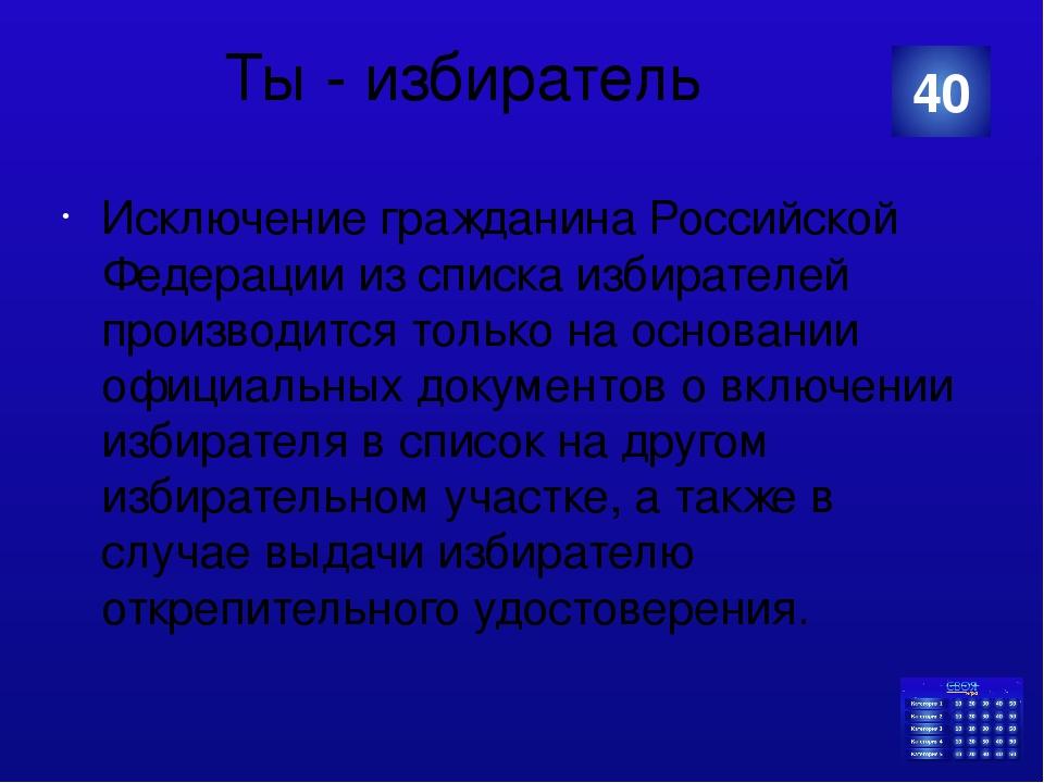 Органы власти в РФ Из скольких депутатов состоит Государственная Дума Российс...