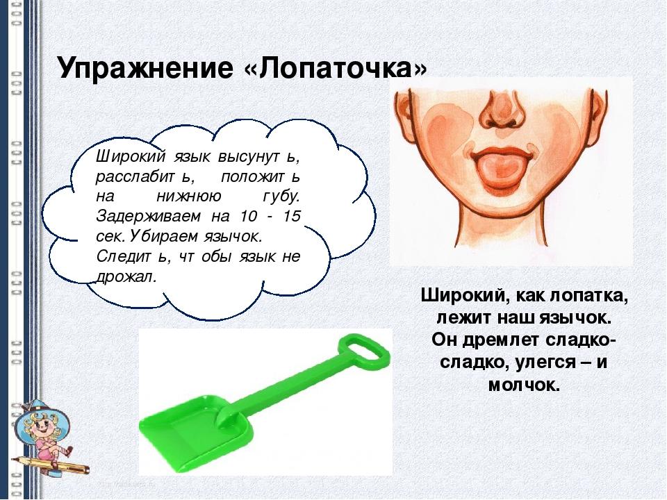 упражнение лопата картинка