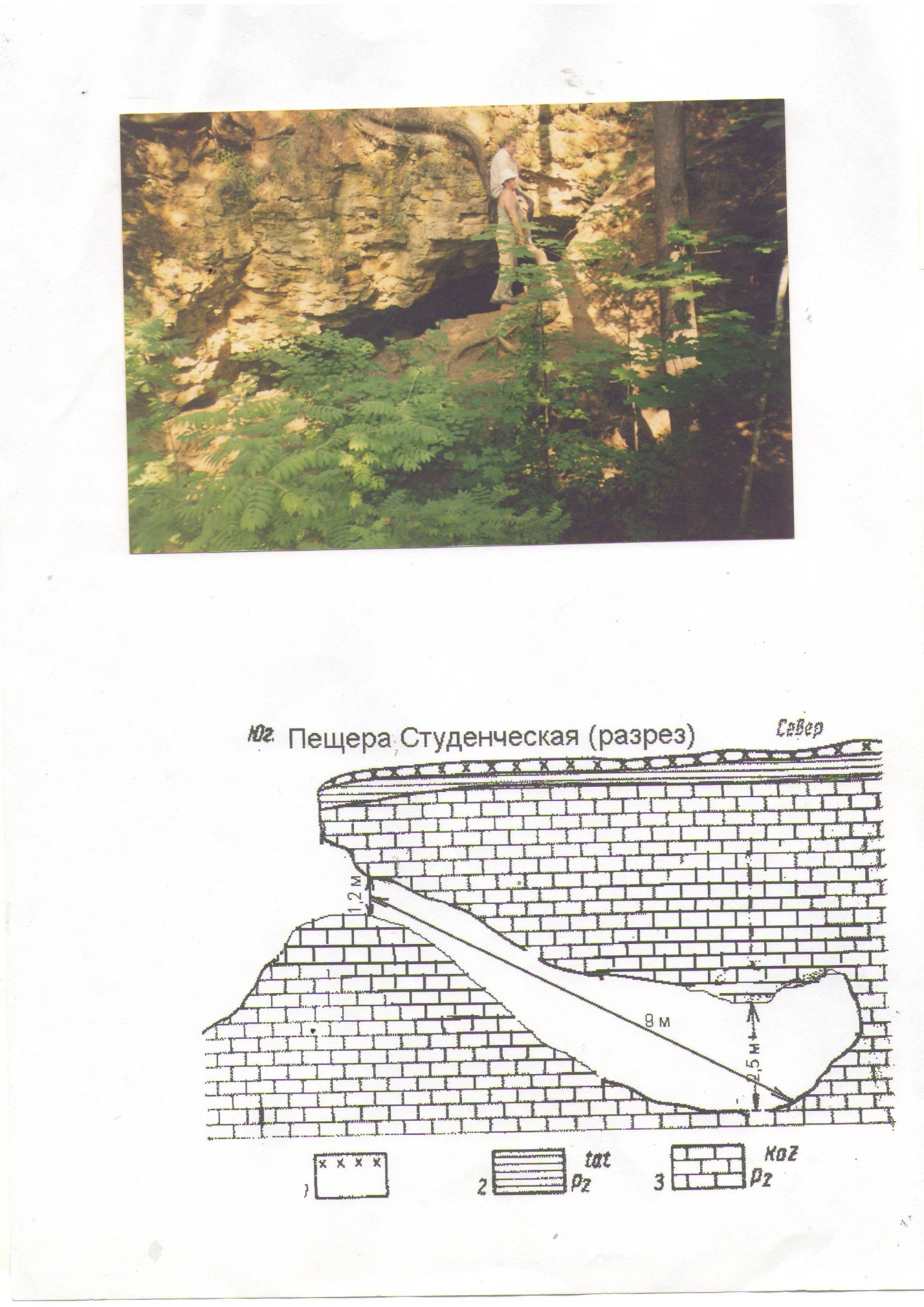 Малоизвестные пещеры Ичалковского бора