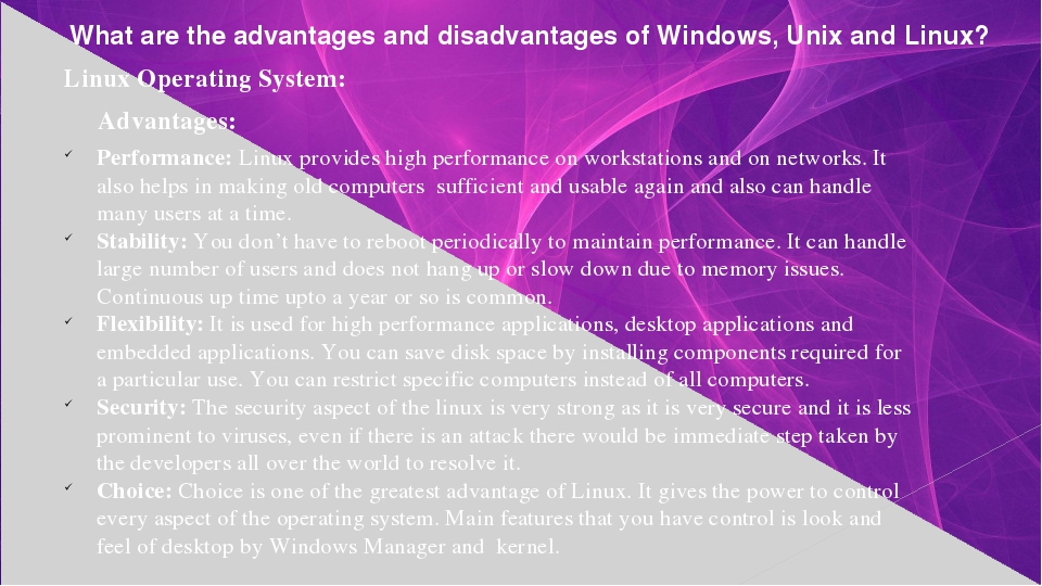 advantages and disadvantages of workstation computers I will be trying to get a standing workstation in the future, because what i saw were immense benefits and advantages over that time okay, enough of that, on to the list things i liked about.