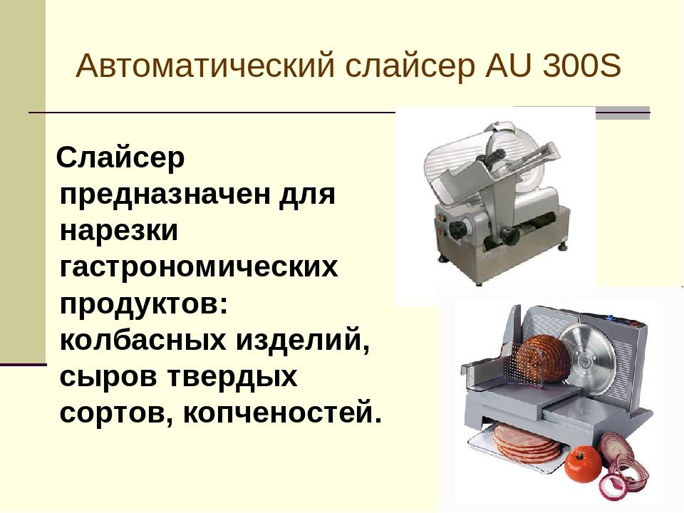 СЛАЙСЕРЫ МРГ 300А