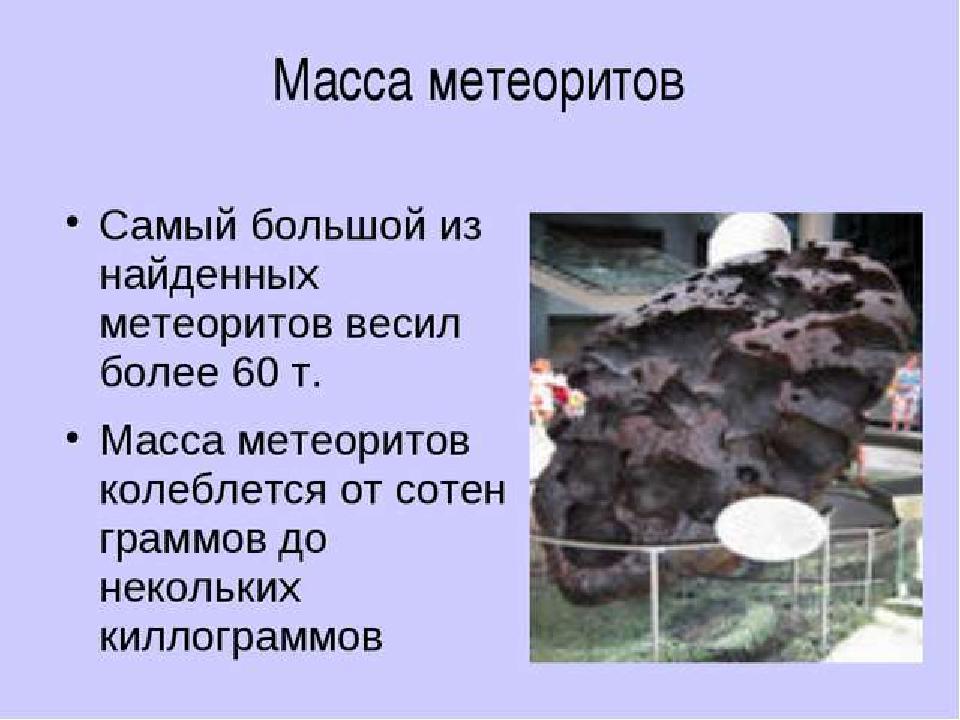 Презентация по географии астероиды, кометы, метеоры, метеориты (5 класс)