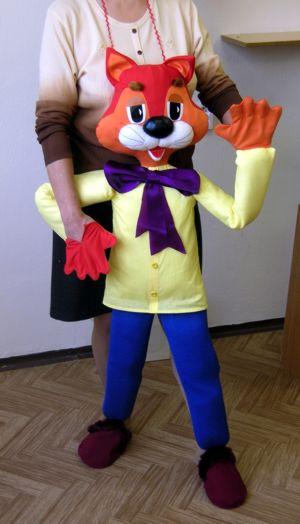 Как сделать большую куклу для кукольного театра