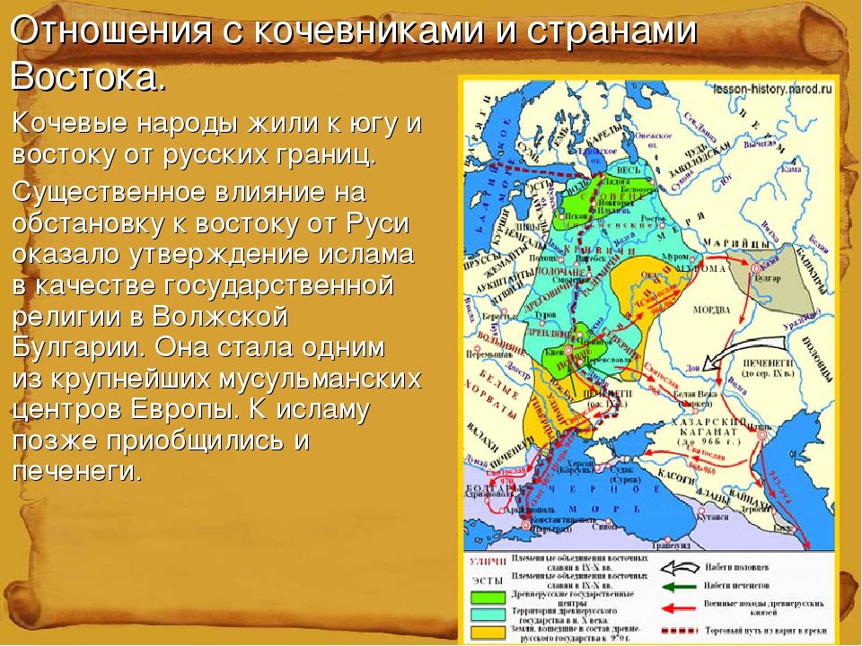 Какими были отношения руси с западной европой 37